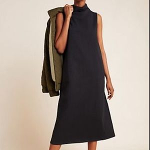 NWT Anthropologie Velvet black maxi dress XL A5